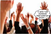 Raised hand hate 1
