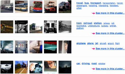 Flickr Cluster: Passenger