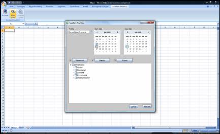 Excellent Analytics; een Google Analytics plug-in voor Excel