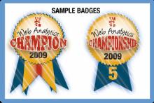Sample badge waa
