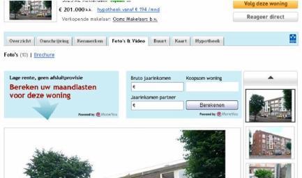 Moneyou Funda.nl campagne