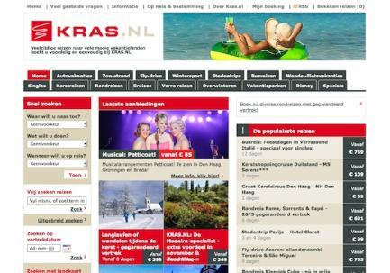Kras.nl website