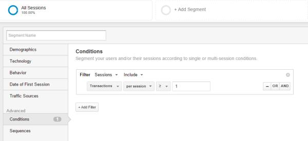 Google-Analytics-E-commerce-segment