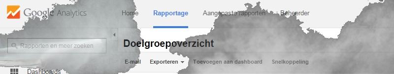 google analytics dust nl