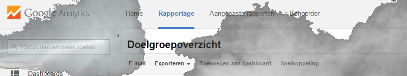 google analytics dust nl