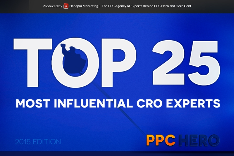 top 25 most influential cro experts -top
