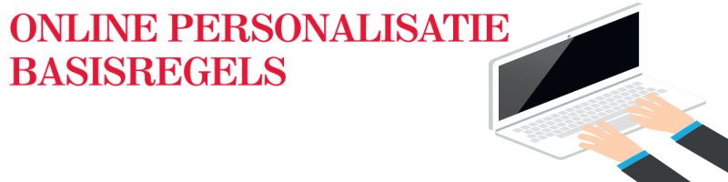 online personalisatie basisregels header