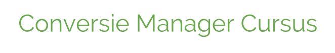Conversie Manager