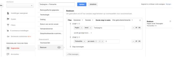 Google Optimize Reports