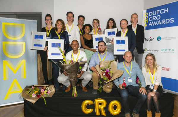 Winnaars CRO awards