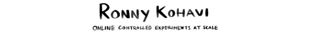 CH2017 Ronny Kohavi
