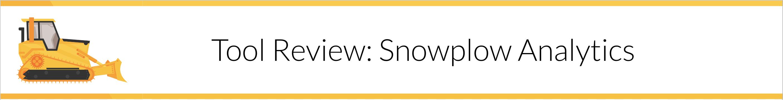 Snowplow Analytics